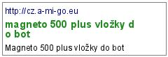 magneto 500 plus vložky do bot